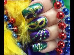 mardi gras nail mardi gras nails mardi gras festival nail