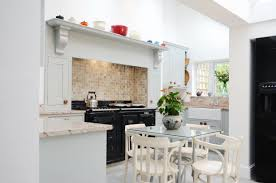 Kitchen Design Cornwall by Cornish Kitchen With Aga Table And Chairs Susie Hammond