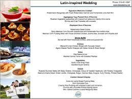 wedding buffet menu ideas wedding catering menu ideas tbrb info