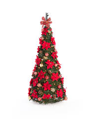 Tree Pop Up Home Accents 6 Ft Pre Lit Pre Decorated Pop Up Tree Belk