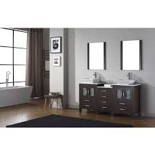 bathroom vanities 66 u0027 u0027 dior double sinks bathroom vanity set in