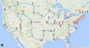 Interstate Map Of The United States by This Is The Perfect Us Road Trip According To Scientists
