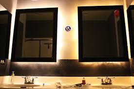 Bathroom Framed Mirrors Inside The Frame The Master Bathroom Project Adding Framed