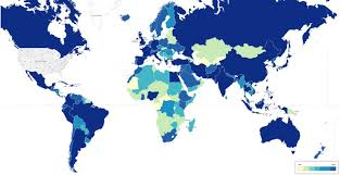 Google United States Map by Do Americans Care About The Rest Of The World These Two Google
