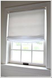 Roman Shade Hardware Kits - no sew window treatment relaxed roman shades in my own style