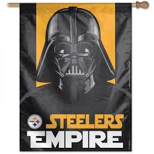 pittsburgh steelers darth vader star wars house banner