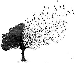 bird and tree i really really want this my style