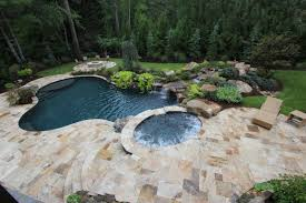 Limestone Patio Pavers by Falling In Love With Travertine Pavers Pool Deck Homesfeed
