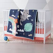 dreaming of space crib bedding the land of nod