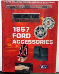 ford accessories brochure passenger cars bronco econoline club