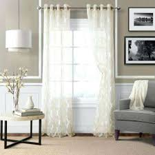 ivory sheer curtains large size of voile sheer curtains images
