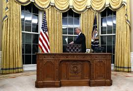 White House Gold Curtains by Office Design Desk In Oval Office Made From Oval Office Desk