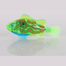 sale fashion flash electric robot pet fish beautiful fish