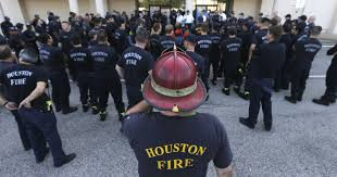 Arizona Firefighters Association by Houston Firefighters Acted On Own Initiative To Rescue Residents