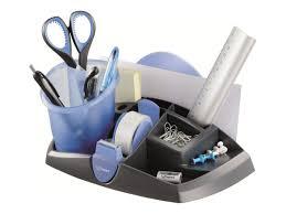 accesoires de bureau maped pot à crayons bleu noir autres accessoires de bureau