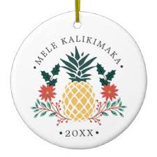 hawaiian ornaments keepsake ornaments zazzle