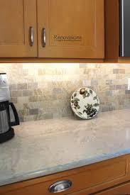 240 best kitchen renovisions images on pinterest cabinet storage a recent kitchen renovation by renovisions wood cabinetry quartz countertops brushed nickel hardware stone backsplashkitchen