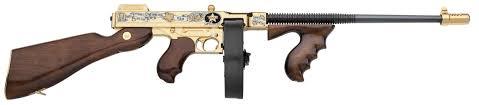 thompson sub machine gun texas home state tribute america