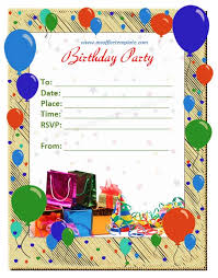 birthday invitation cards models winclab info