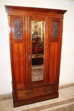 Mirror Armoire Wardrobe Art Deco Armoire Ebay