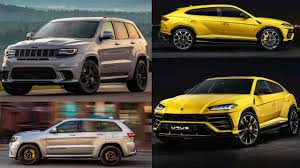 jeep cherokee yellow urus vs grand cherokee trackhawk closer than you think