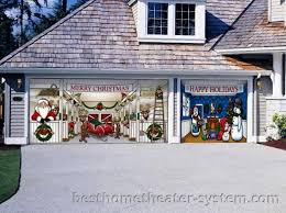 garage door decorations 9 best home theater systems home