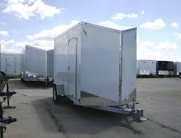 enclosed trailer led lights 6 x 12 aluminum enclosed cargo trailer by lightning
