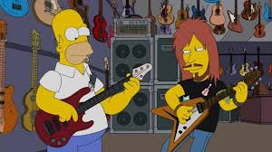 homer simpson prefers bass guitar metal injection