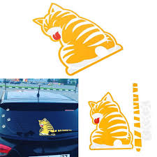 lovely fun bedroom ideas for couples maverick mustang cartoon cat moving tail car sticker reflective decals for ford
