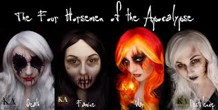 the four horsemen of the apocalypse death by katiealves on