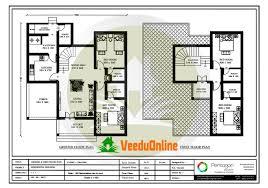 kerala floor plans beautiful kerala double floor plan 1871 square feet