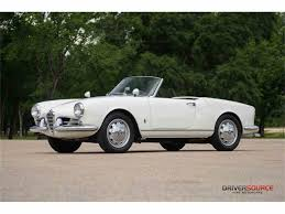1958 alfa romeo giulietta spider for sale classiccars com cc