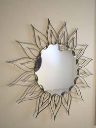 decorating winsome circle mirror wall decor design featuring