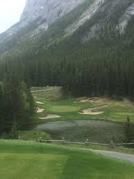last weekend banff springs 4 s cauldron golf