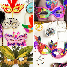 diy mardi gras mask 30 diy mask ideas for kids fullact trending stories with the