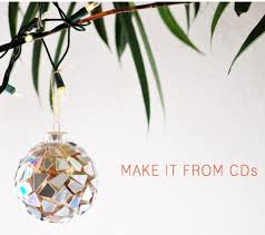 upcycled cd ornaments totally green crafts
