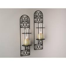 Wall Sconce Set Of 2 Home Essentials U0026 Beyond Bristol Gold Wall Sconces Set Of 2