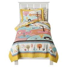 Circo Girls Bedding by Love N Nature Quilt Set Yellow Blue Full Queen Circo Http