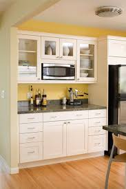 modern arts u0026 crafts kitchen with painted shaker style cabinets