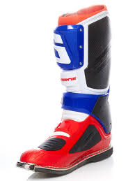 gaerne sg12 motocross boots gaerne white blue red 2017 sg12 mx boot gaerne freestylextreme