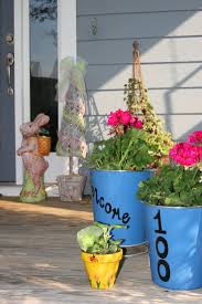 Front Porch Decor Ideas by 123 Best Easter Outdoor Decorations Images On Pinterest Easter