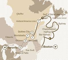 Canada French Speaking Map by Eastern Explorer U0026 Cruise Scenic