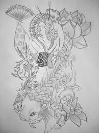 koi tattoo by thalialia on deviantart