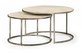 round nesting coffee table stone round nesting coffee table intaglia home collection an