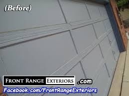 Garage Overhead Doors by Front Range Exteriors Inc New Garage Door Overhead Doors In