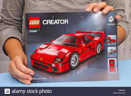 lego ferrari f40 tambov russian federation january 02 2016 lego instruction of