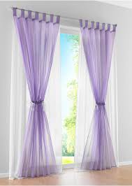 Purple And White Curtains Layer 2 Colors Curtain Window Screening Quality Sheer Gauze