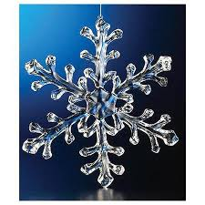 buy club pack of 12 icy clear beaded tear drop snowflake