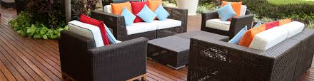 clean patio furniture efficiently