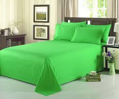 Bed Sheet Set Tache 3 4 Piece 100 Cotton Solid Lime Green Bed Sheet Set U2013 Tache